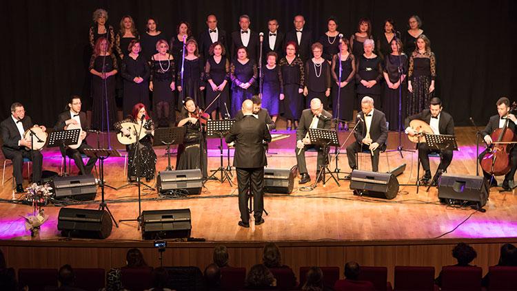 Türk Müziği Korosundan Muhteşem Konser