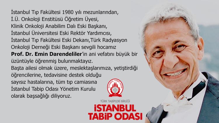Acımız Büyük: Prof. Dr. Emin Darendeliler'in Ani Vefatı Tıp Camiasını Yasa Boğdu