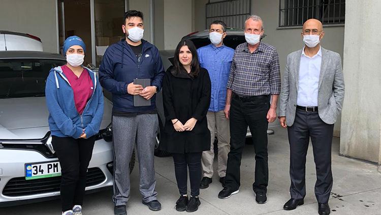 Yönetim Kurulumuzun Hastane Ziyaretleri Sürüyor