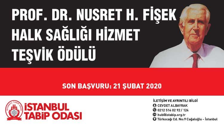 Prof. Dr. Nusret H. Fişek Halk Sağlığı Hizmet / Teşvik Ödülü