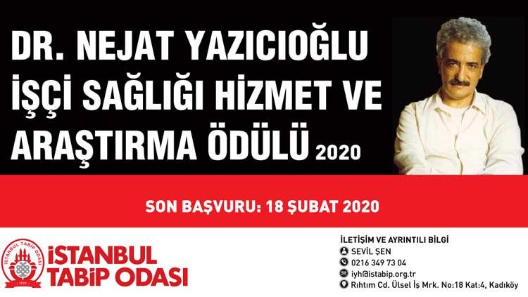 14 Mart Tıp Haftası Dr. Nejat Yazıcıoğlu İşçi Sağlığı Hizmet ve Araştırma Ödülleri