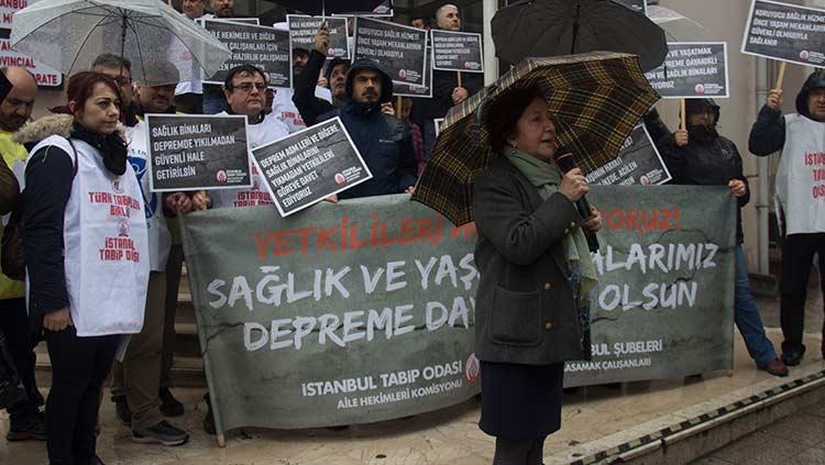 İstanbul'da Birinci Basamak Sağlık Kurumları Depreme Hazır Değil