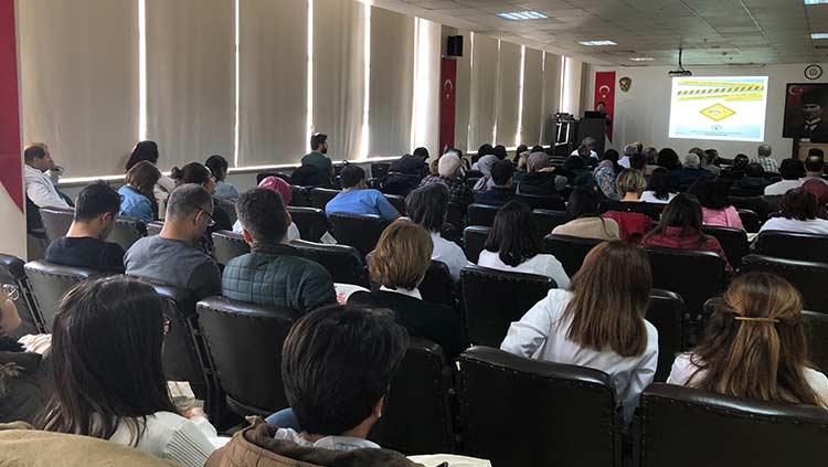 """Kanuni Sultan Süleyman EAH'de """"Sağlıkta Güvenli Çalışma Eğitimi"""" Gerçekleştirildi"""