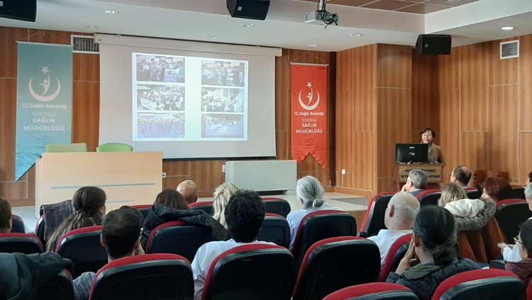 """Dr. Lütfi Kırdar EAH'de """"Sağlıkta Güvenli Çalışma Toplantısı """" Yapıldı"""