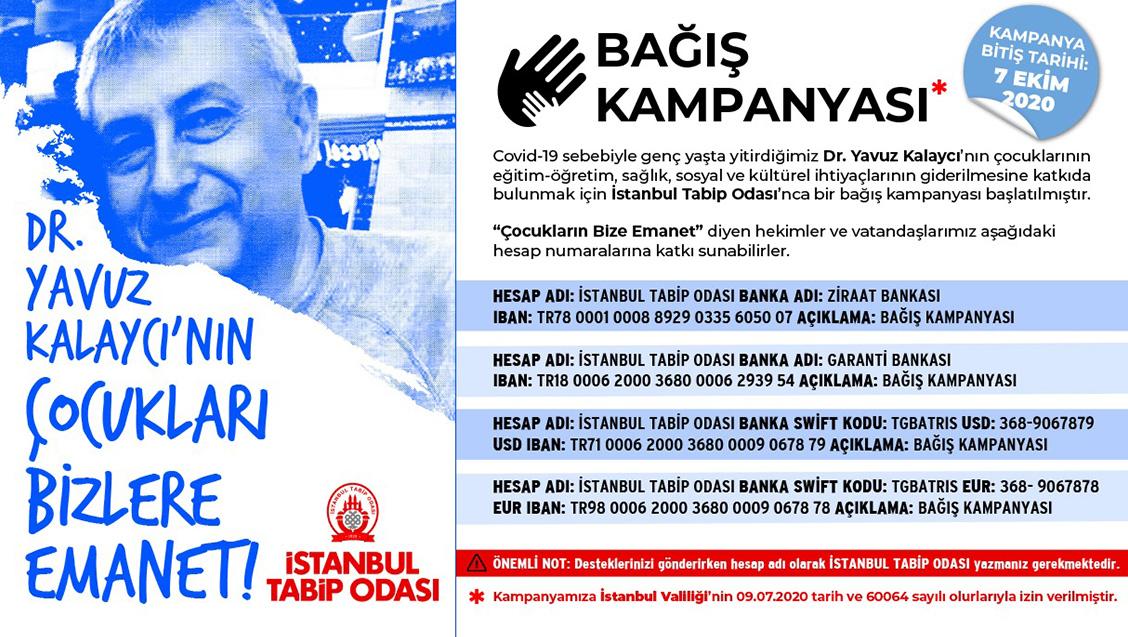 Bağış Kampanyası: Dr. Yavuz Kalaycı'nın Çocuklarına Sahip Çıkıyoruz