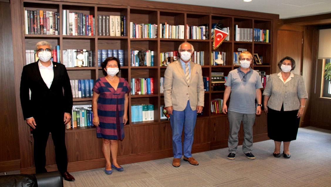 İTO Yönetim Kurulu'ndan İstanbul Barosu'na ziyaret