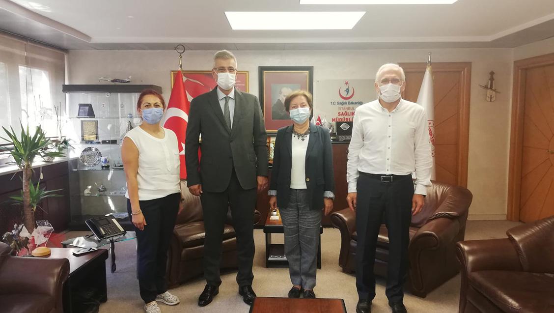 Yönetim Kurulumuz İstanbul İl Sağlık Müdürünü Ziyaret Etti