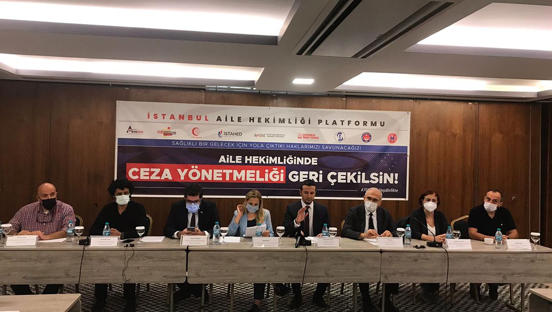 İstanbul Aile Hekimliği Platformu'ndan Açıklama: Ceza Yönetmeliği Geri Çekilsin!