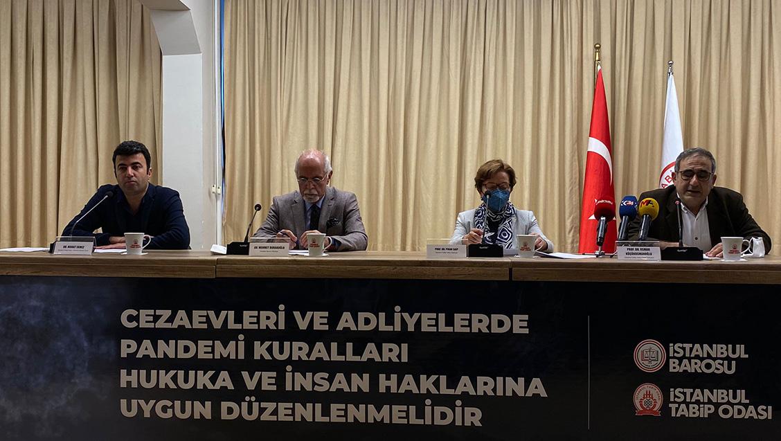 Ortak Basın Toplantısı: Cezaevi ve Adliyelerde Pandemi Önlemleri İnsan Hakları ve Hukuka Uygun Olarak Düzenlenmelidir