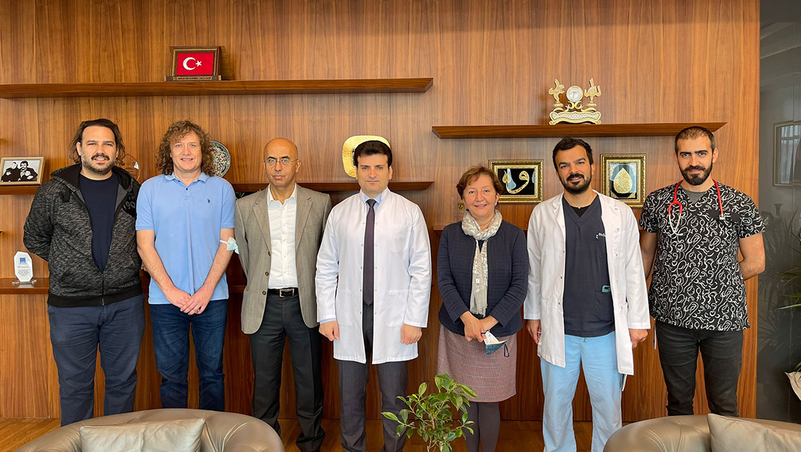 Yönetim Kurulumuz Çam ve Sakura Şehir Hastanesi'ni Ziyaret Etti
