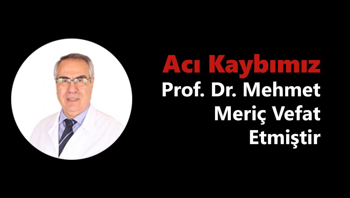 Acı Kaybımız : Prof. Dr. Mehmet Meriç Vefat Etmiştir