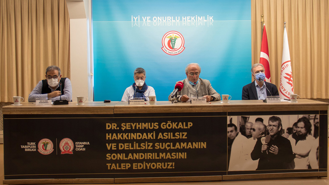 Basın Toplantısı: Dr. Şeyhmus Gökalp'in Hakkındaki Asılsız ve Delilsiz Suçlama Sonlandırılmalıdır