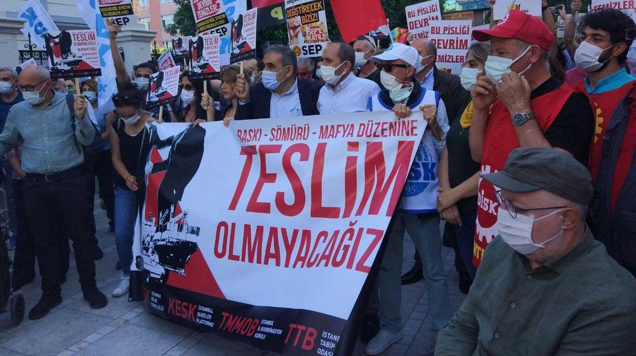 Emek-Meslek Örgütlerinden Ortak Açıklama: Baskı, Sömürü, Mafya Düzenine Teslim Olmayacağız!