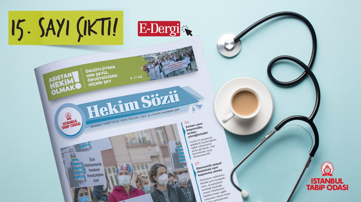 Hekim Sözü (Sayı 15) Mayıs-Haziran 2021