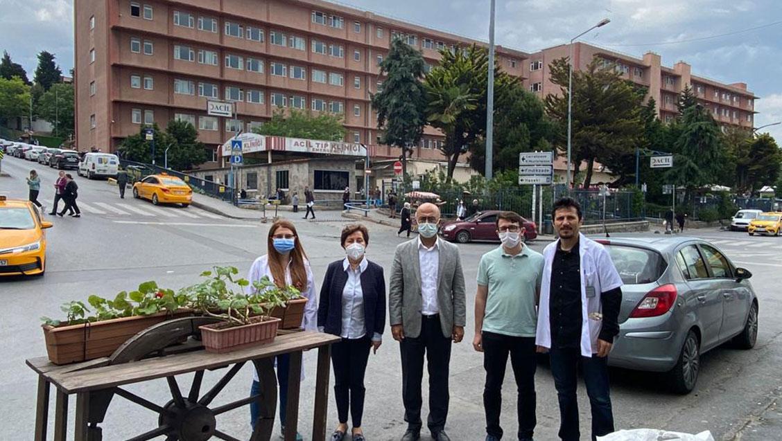 Yönetim Kurulumuz İstanbul Eğitim ve Araştırma Hastanesi'ni Ziyaret Etti