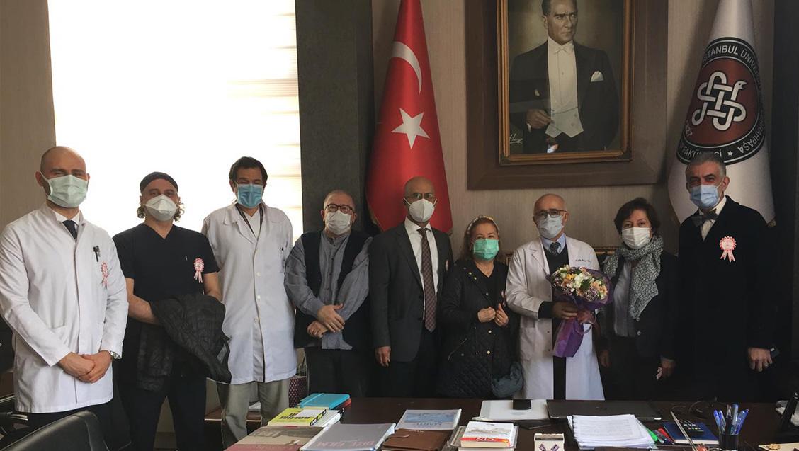İstanbul Üniversitesi-Cerrahpaşa Tıp Fakültesi'ne Tıp Haftası Ziyareti Gerçekleştirdik
