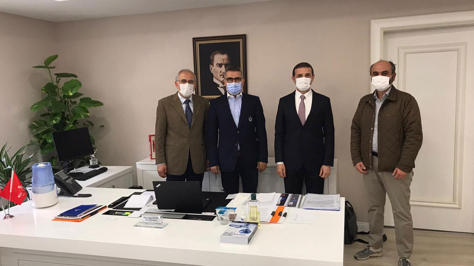Aile Sağlığı Merkezleri Binalarının Sorunlarıyla İlgili Olarak İstanbul Büyükşehir Belediyesi'yle Görüştük