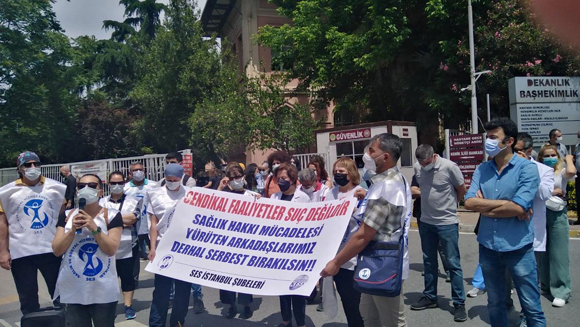 Basın Açıklaması: Emek, Demokrasi ve Sağlık Hakkı Mücadelesi Engellenemez!