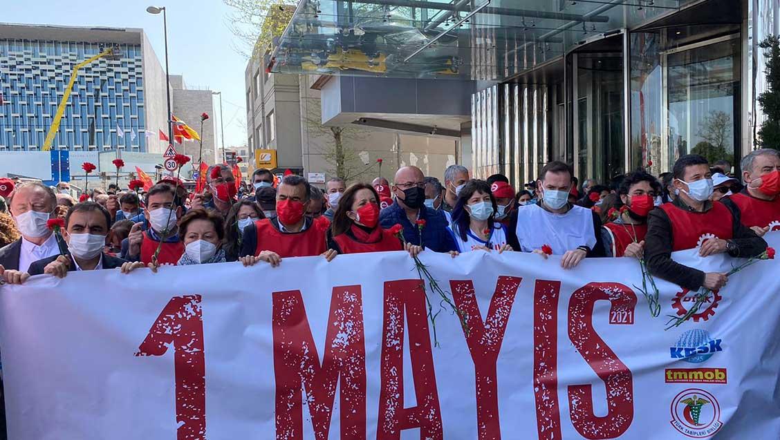 1 Mayıs Birlik, Mücadele, Dayanışma Gününde Yitirdiklerimizi Andık