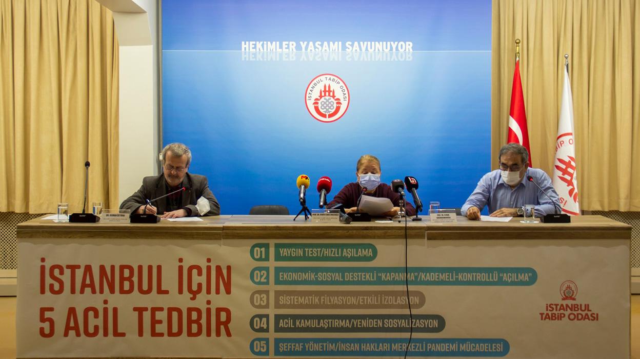 Basın Toplantısı: İstanbul İçin Beş Acil Tedbir