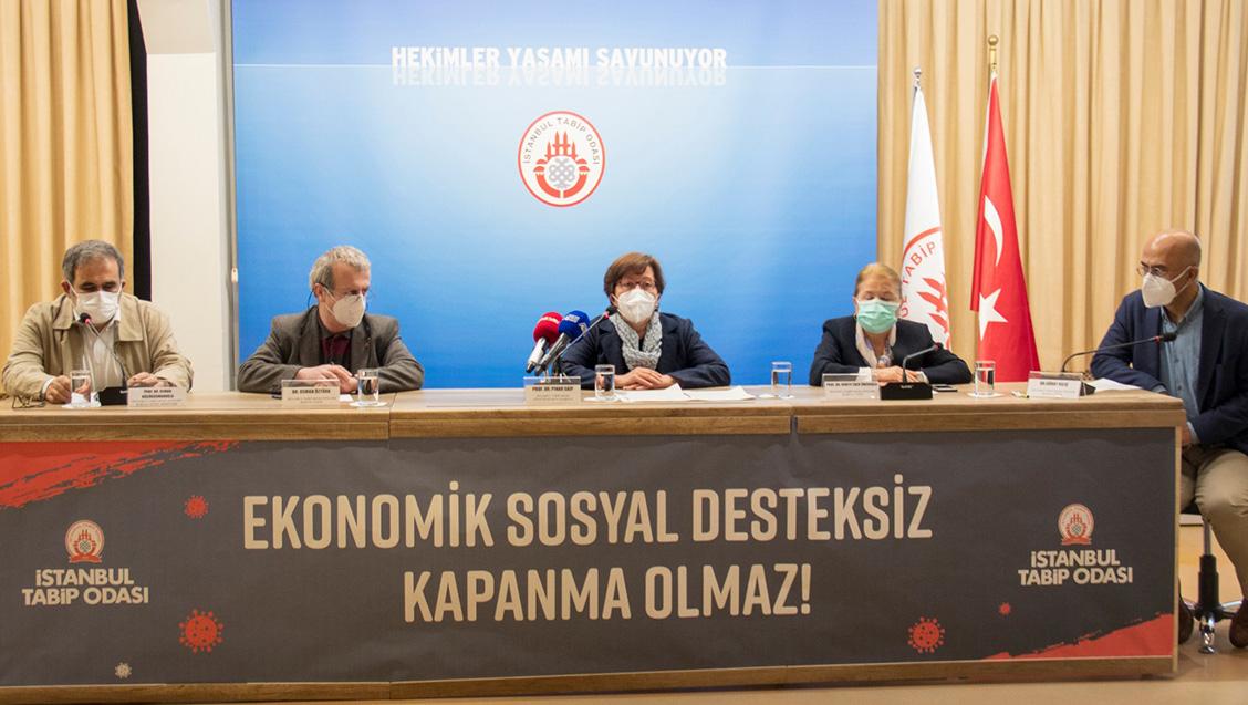 Basın Toplantısı: Ekonomik Sosyal Desteksiz Tam Kapanma Olmaz