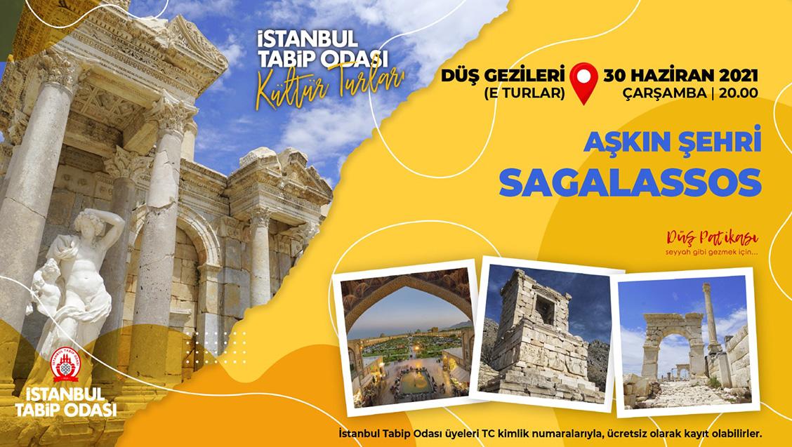 Aşkın şehri Sagalassos  E Turu - 30 Haziran 2021 Çarşamba Saat 20.00