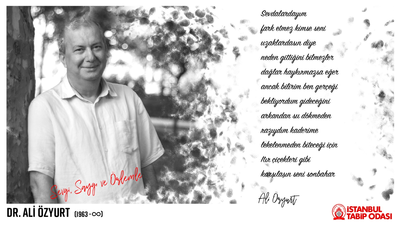 Dr. Ali Özyurt'u Sevgiyle, Saygıyla, Özlemle Anıyoruz