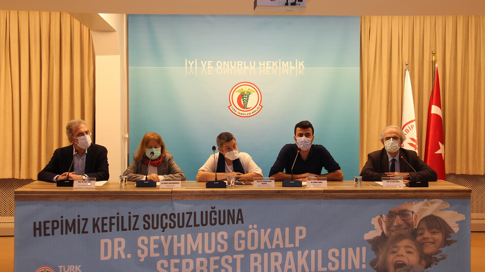Dr. Şeyhmus Gökalp'in Haksız-Hukuksuz Tutukluluğuna Son Verilsin