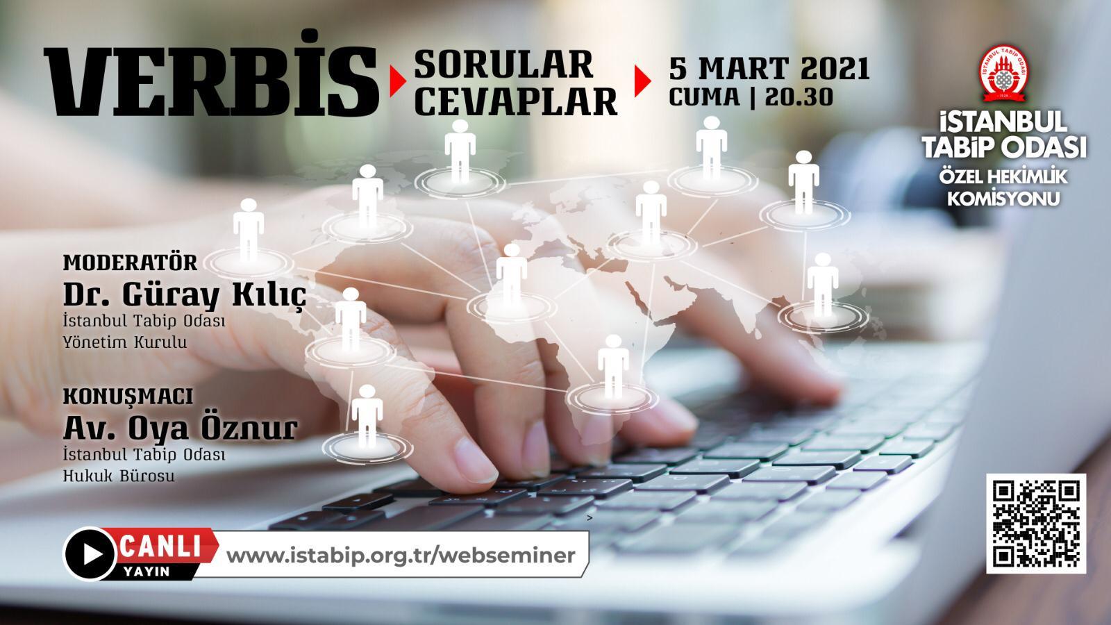 Web-seminer 05 Mart: VERBİS : Sorular – Cevaplar