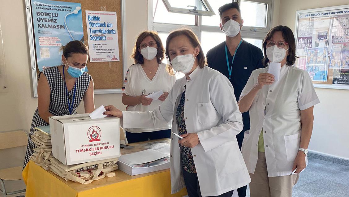 Marmara Üniversitesi Tıp Fakültesi'nde Temsilci Seçimlerini Gerçekleştirdik