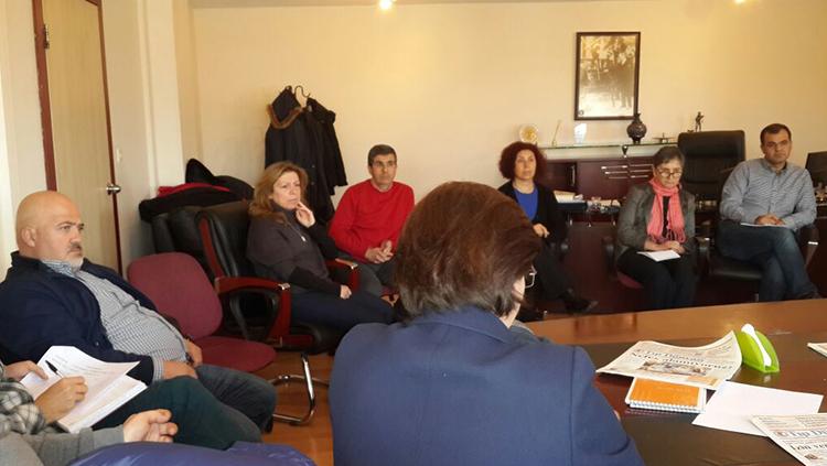 Birinci Basamak Sağlık Örgütleri Toplantısı Yapıldı