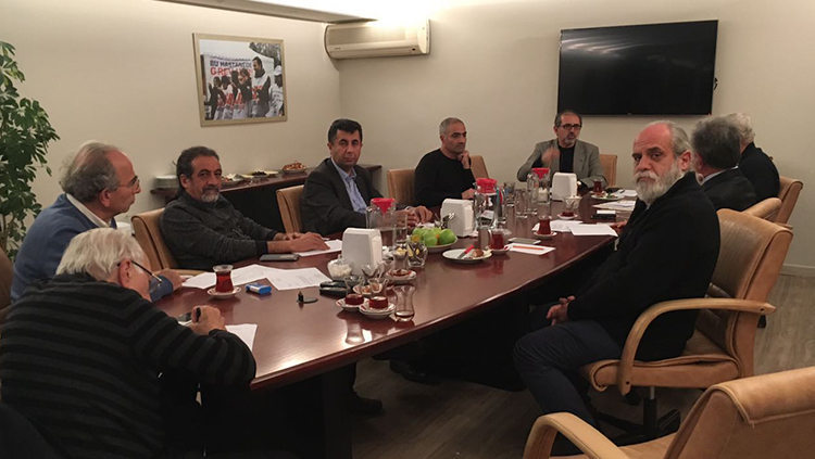 İstanbul Meslek Odaları Koordinasyonu Toplandı