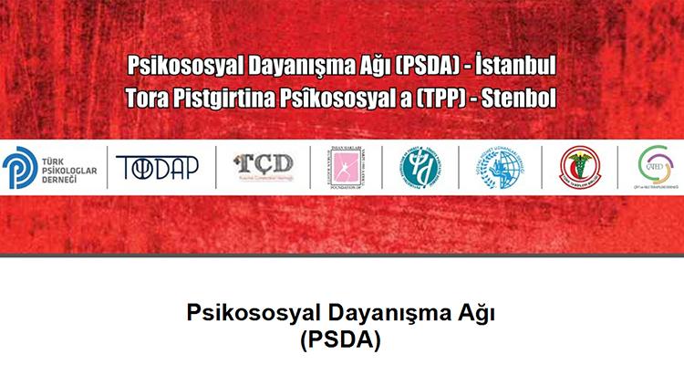 Psikososyal Dayanışma Ağı İstanbul'dan Açıklama