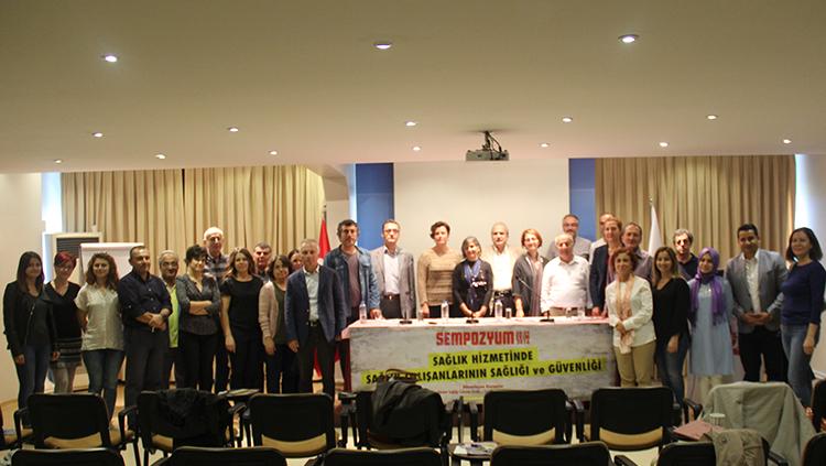 """""""Sağlık Sektöründe Sağlık Çalışanların Sağlığı Ve Güvenliği"""" Sempozyumu 8 – 9 Ekim 2016 Tarihlerinde İstanbul'da Gerçekleştirildi"""