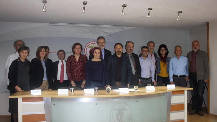 TTB ve ATO'dan Dr. Selçuk Erez ve Dr. Benan Koyuncu'ya Destek