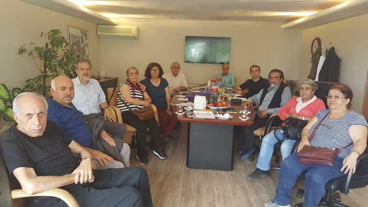 Suruç Aileleri İnisiyatifi Yönetim Kurulumuzu Ziyaret Etti
