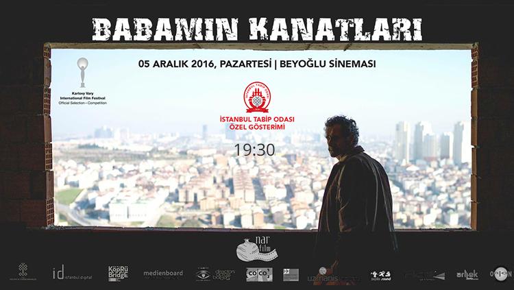 İstanbul Tabip Odası Özel Gösterim Babamın Kanatları