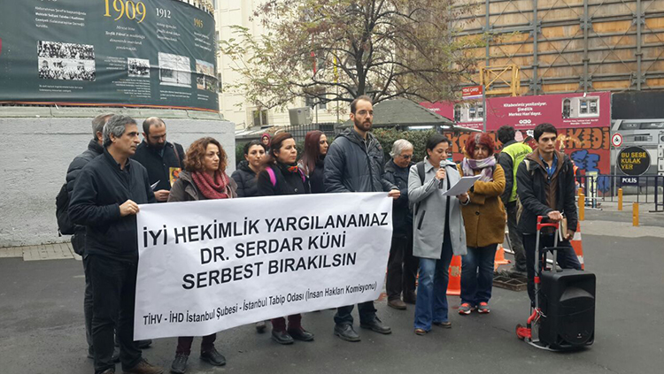 Dr. Serdar Küni Derhal Serbest Bırakılmalıdır