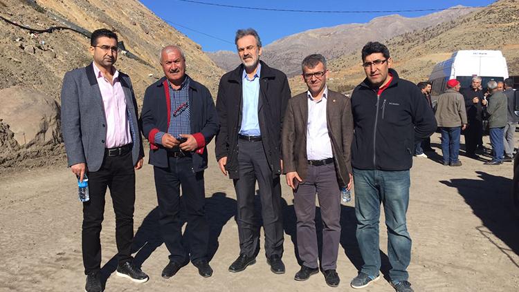 TTB, DİSK, KESK Ve TMMOB Heyetinden Sirvan Ziyareti
