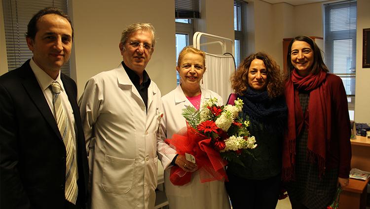 Tıp Haftasında Birim Ziyaretleri