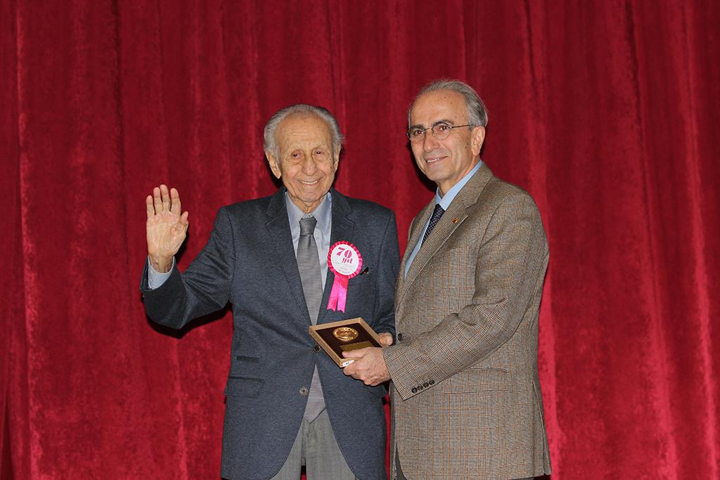 14 Mart Ödül ve Plaket Törenleri Yapıldı