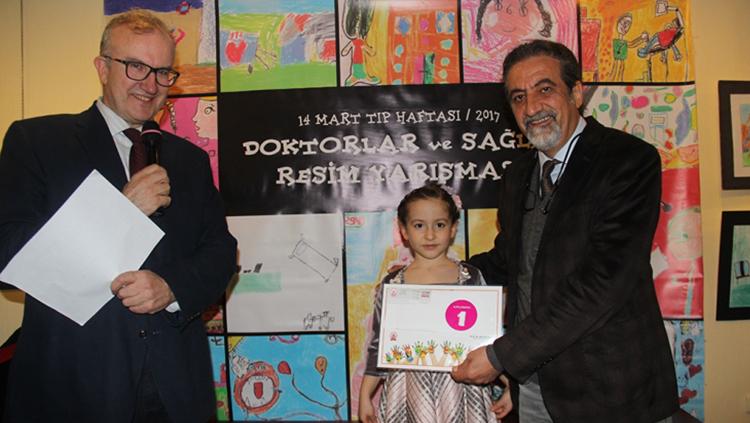 Doktorlar ve Sağlık Resim Yarışması Ödül Töreni Yapıldı