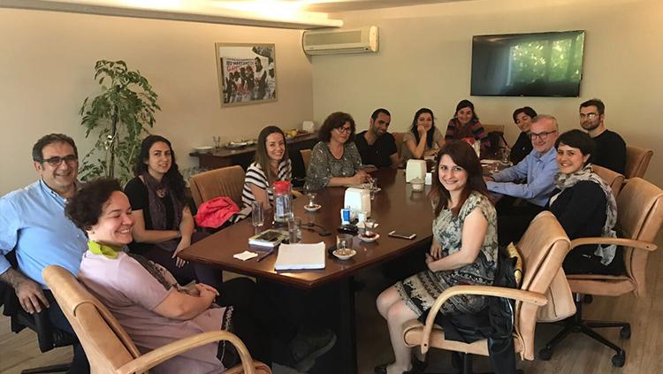 Cerrahpaşa Asistan Hekimleri Yönetim Kurulumuzu Ziyaret Etti