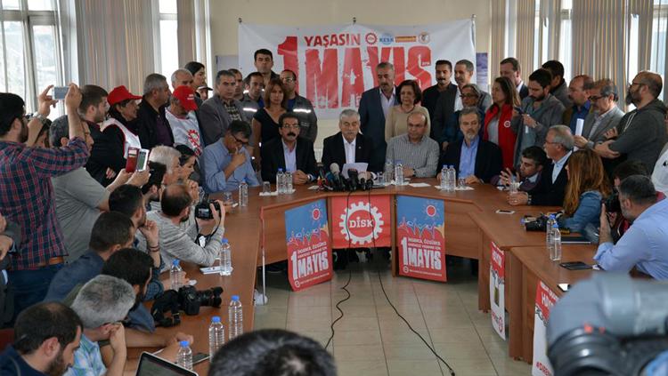 TTB, DİSK, KESK ve TMMOB: 1 Mayıs'ta Bakırköy'de Buluşuyoruz