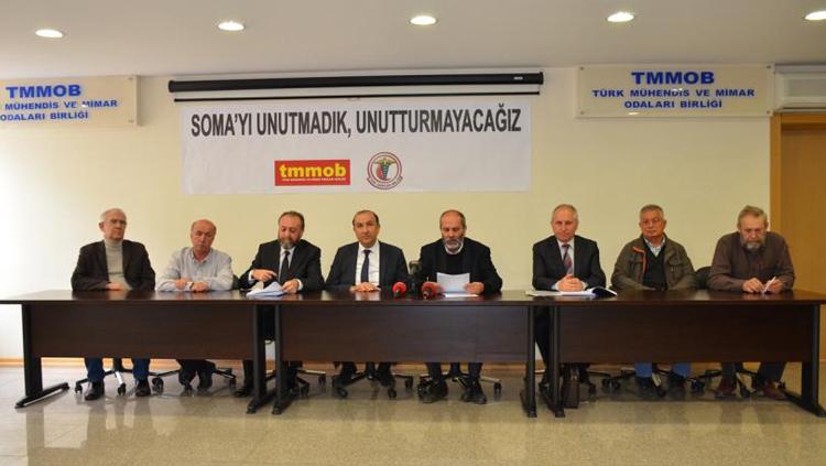 TTB-TMMOB Soma Maden Faciası İnceleme Raporu Açıklandı