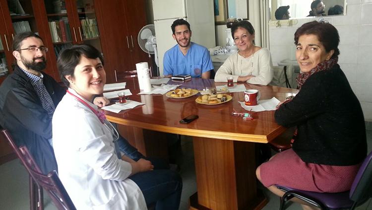 Temsilciler Kurulu Divanı Üyeleri Hastane Ziyaretlerine Başladı