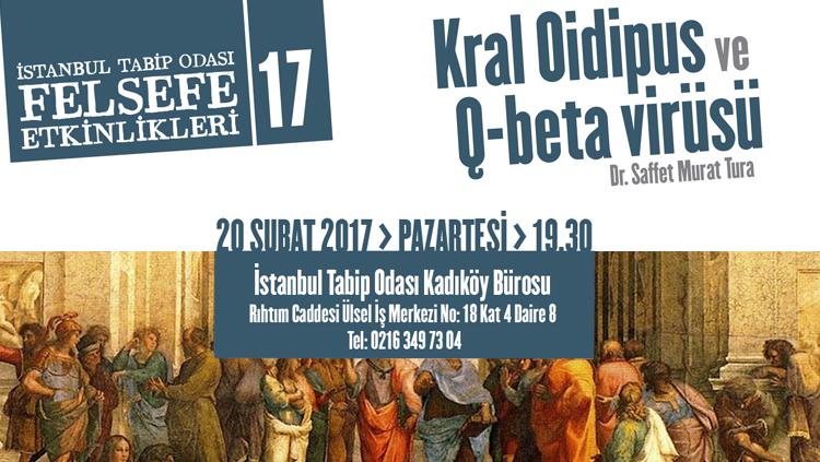 Felsefe Etkinlikleri 17: Kral Oidipus ve Q-beta Virüsü
