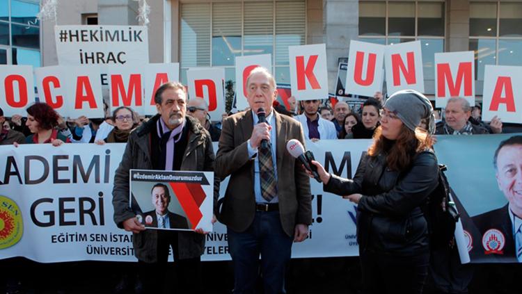 Prof. Dr. Özdemir Aktan Geçici Olarak Uğurlandı