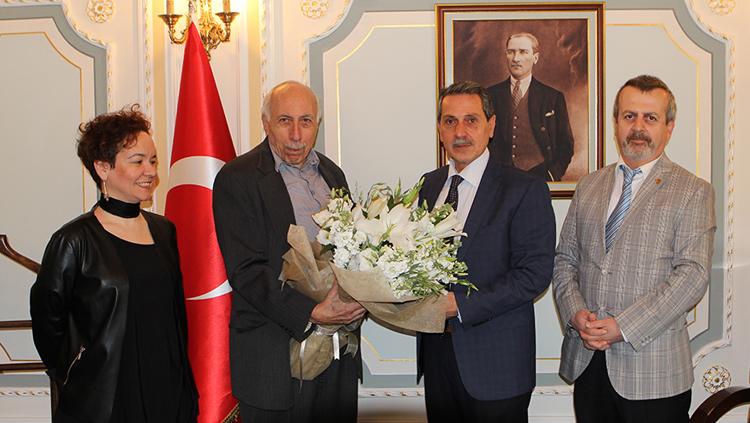 Yönetim Kurulumuz İstanbul Valiliği'yle Görüştü